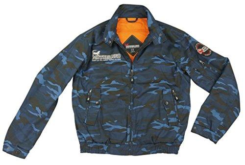 KOMINE(コミネ) コミネ JK-591 Protect Swingtop JKT Blue Camo 3XL【smtb-s】