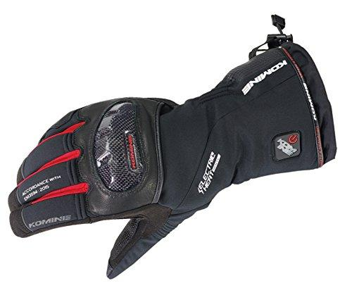 KOMINE(コミネ) コミネ EK-200 Carbon Protect E-Gloves Black/Red S【smtb-s】