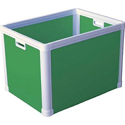 DICプラスチック 77201TP465LGKUNIMORI プラダン ブロックコンテナ(TPタイプ)TP465 ライトグリ7605587【smtb-s】