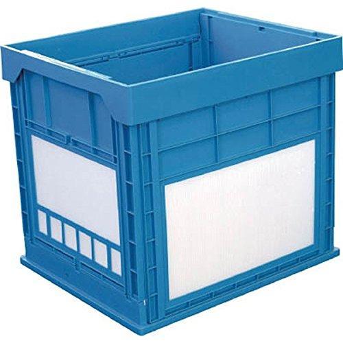 DICプラスチック 50680N134BKUNIMORI プラスチック折畳みコンテナ パタコン N-134 ブルー7605382【smtb-s】