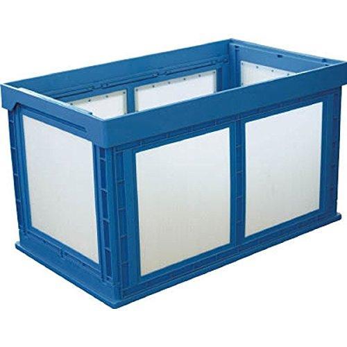 DICプラスチック 50210N180BKUNIMORI プラスチック折畳みコンテナ パタコン N-180 ブルー7605366【smtb-s】