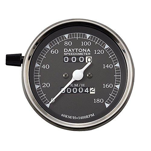 デイトナ LEDビンテージSPメーター ( クロ ) 180K ( 71770 )