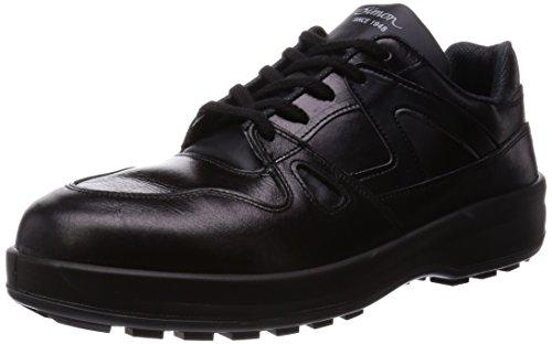 8611BK24.0シモン 安全靴 短靴 8611黒 24.0cm3513904【smtb-s】