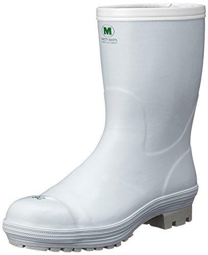 FBH01W24.0ミドリ安全 氷上で滑りにくい防寒安全長靴 FBH01 ホワイト 24.0cm8370702【smtb-s】