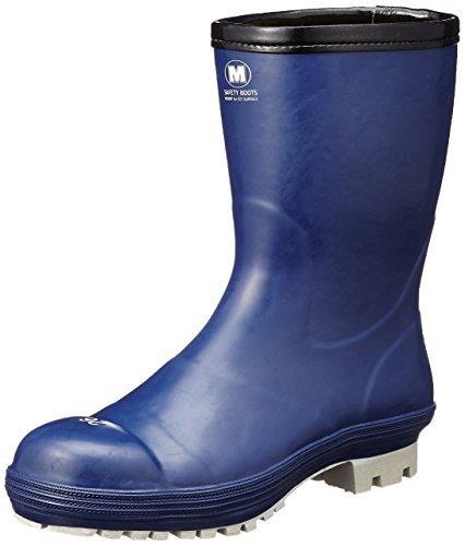 FBH01NV29.0ミドリ安全 氷上で滑りにくい防寒安全長靴 FBH01 ネイビー 29.0cm8370700【smtb-s】