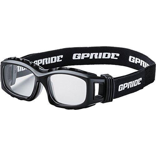 グラスアート(Glassart) GP94MBKEYE-GLOVE 二眼型セーフティゴーグル ブラック (度なしレンズ)8557241【smtb-s】