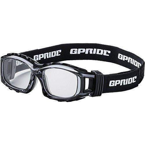 グラスアート(Glassart) GP94MGREYE-GLOVE 二眼型セーフティゴーグル グレー (度なしレンズ)8557242【smtb-s】