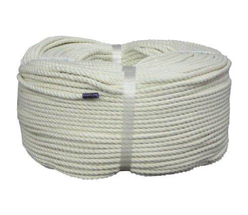 C5200ユタカ ロープ 綿ロープ巻物 5φ×200m8291208【smtb-s】
