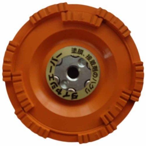 FN9273ナニワ ダイヤシェーバー 塗膜はがし 鋼板用 橙7886209【smtb-s】