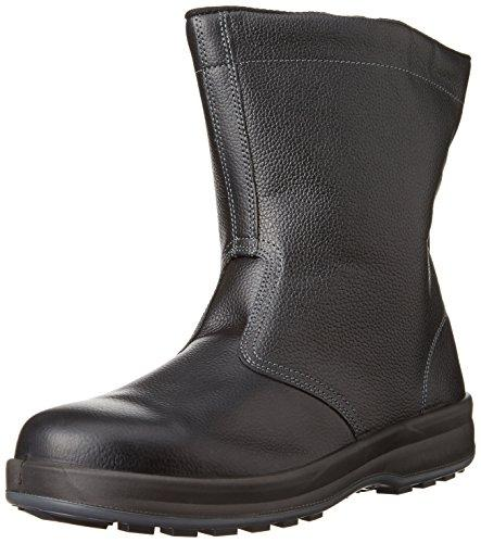 WS44BK27.0シモン 安全靴 半長靴 WS44黒 27.0cm7570911【smtb-s】