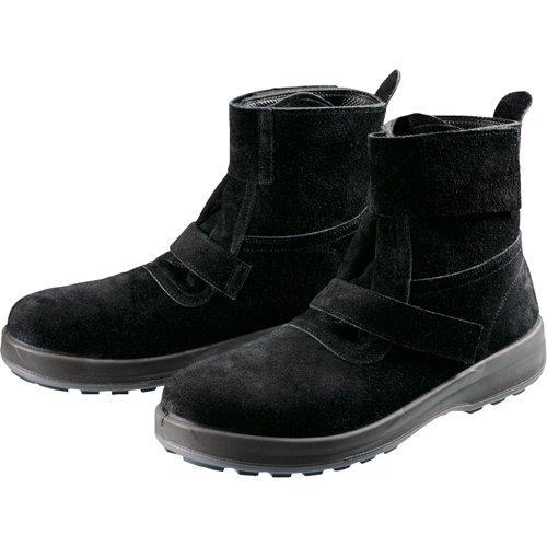 WS28BKT23.5シモン 安全靴 WS28黒床 23.5cm7847629【smtb-s】