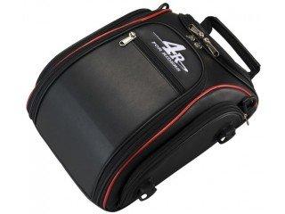 キジマ シートバッグ BK/RD 9L (FR-A00005)【smtb-s】