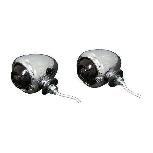 キジマ オールドスタイルウィンカーランプ M/Rガラスレンズ 12V/23 HD-01144