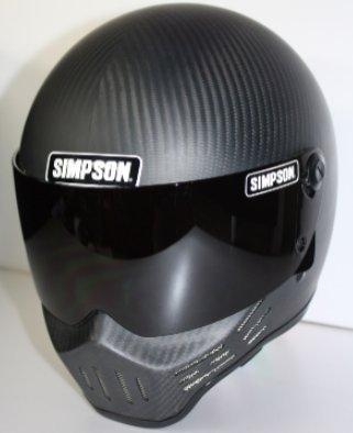 シンプソン(SIMPSON) SIMPSON M30 マットカーボン 62 3305496200【smtb-s】