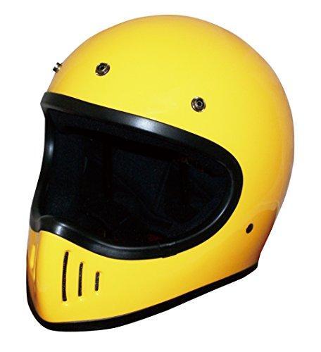ダムトラックス(DAMMTRAX) ヘルメット BLASTER-カイ YELLOW L【smtb-s】
