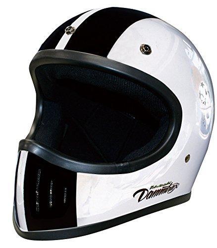 ダムトラックス(DAMMTRAX) ヘルメット BLASTER COBRA-カイ WHITE L【smtb-s】
