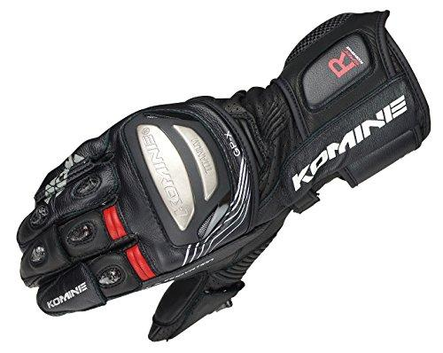 KOMINE(コミネ) GK-212 Titanium Racing Gloves Black L 06-212/BK/L【smtb-s】