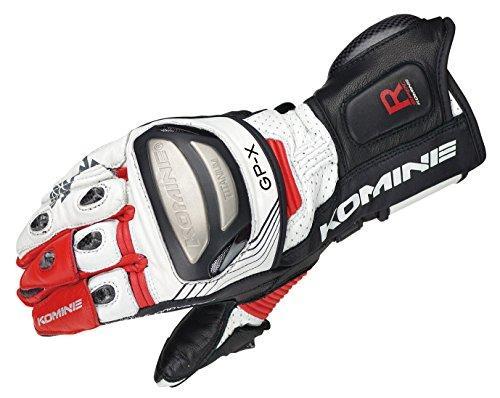 KOMINE(コミネ) GK-212 Titanium Racing Gloves White/Red S 06-212/WH/RD/S【smtb-s】