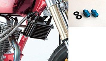 EARLS 14052507 OILクーラーKIT(横)ストレート #6 4.5-7R APE50/APE100 シリンダー取出しタイプ(キタコ:ヨシムラ シリンダー対応)【smtb-s】