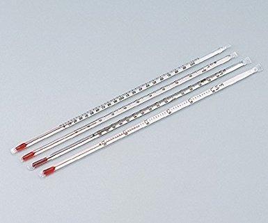 日本計量器工業 フッ素樹脂被膜温度計 0~100 アルコール(検査成績書付)NC20060264133-5887-02【smtb-s】