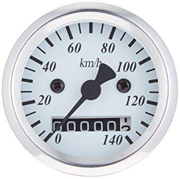 POSH LED ミニミニスピード メ-タ- 140km (ホワイト) (100032-70)【smtb-s】