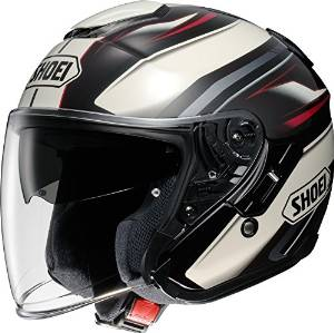 SHOEI ヘルメット J-CRUISE PASSE TC-10 BR/WH L
