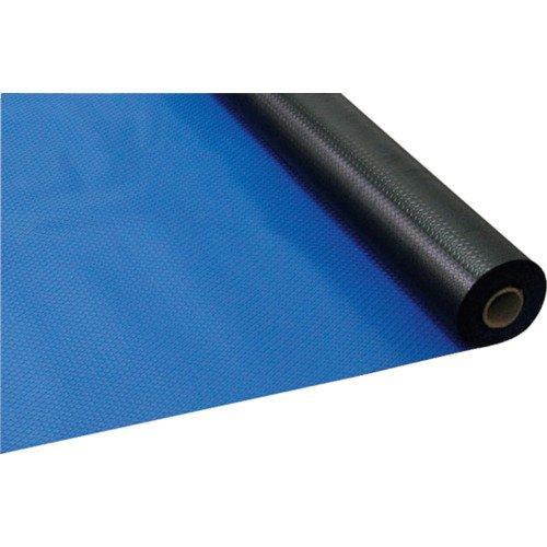 日大工業 ワニ印 塩ビマット ダイヤマット ブルー 1.5mm厚×915mm×20m巻 003022