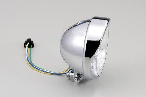 ハリケーン HA5631 5.5ベーツバイザーTYPEヘッドライトkit クロームメッキ ビラーゴ250/400