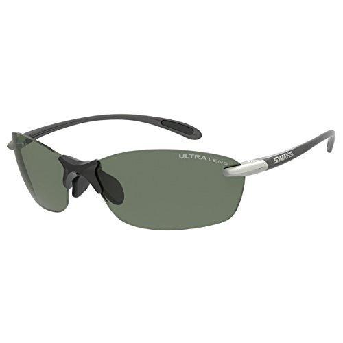 山本光学 Airless-Leaf fit (エアレス・リーフフィット) 品番:SALF-0168 GMR フレーム:ダークガンメタリック×ライトシルバー レンズ:偏光ULライトグリーン(両面マルチ)【smtb-s】