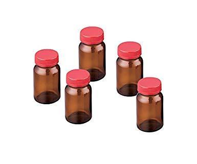 アズワン(As One) 規格瓶SCC NO.10K 茶 50本入 (純水洗浄処理済み)NC2-4998-042-4998-06【smtb-s】