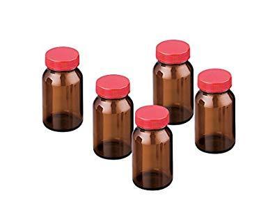 アズワン(As One) 規格瓶SCC NO.13K 茶 50本入 (純水洗浄処理済み)NC2-4998-042-4998-09【smtb-s】