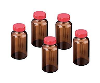 アズワン(As One) 規格瓶SCC NO.14K 茶 30本入 (純水洗浄処理済み)NC2-4998-042-4998-10【smtb-s】