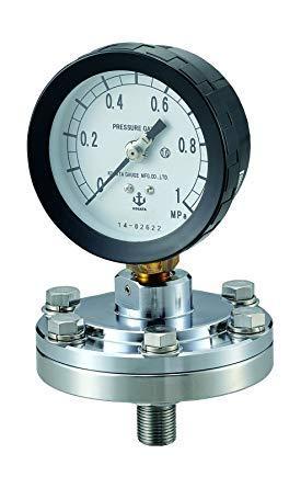 アズワン(As One) ダイヤフラム式圧力計 MZS-1A 75×0.4SUSNCGL1408992-278-04【smtb-s】