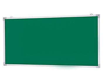 新協和 アルミ掲示板(吊下型)レザーグリーン貼 SMS-1022【smtb-s】