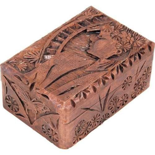 直営ストア 送料無料 アーテック ほう 新品■送料無料■ 木彫小箱