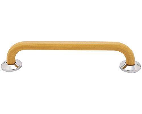 新協和 補助手摺(樹脂被覆付)木目調 SK-290RJ-80150【smtb-s】
