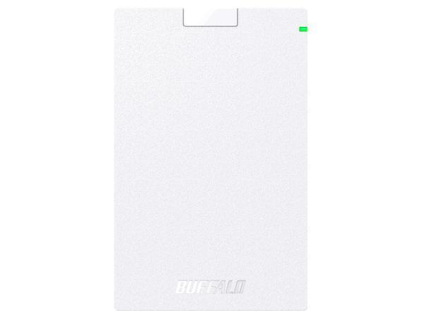 バッファロー USB3.1(Gen.1)対応 ポータブルHDD スタンダードモデル ホワイト 2TB(HD-PCG2.0U3-GWA)【smtb-s】