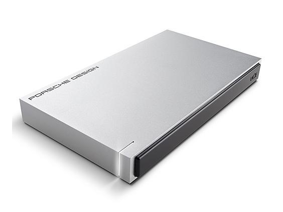 エレコム STET2000400 ポータブルハードディスク LaCie Mobile Porsche USB3.0 LightGrey 2TB(STET2000400)【smtb-s】