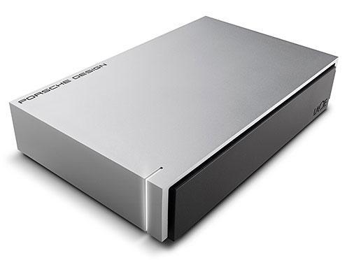 エレコム STEW4000400 外付けハードディスク LaCie Desktop Porsche USB3.0 LightGrey 4TB(STEW4000400)【smtb-s】