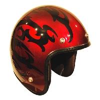 ジャムテックジャパン JCP-22 Custom Paint Jam Jet Helmets TORAIBARU RD 56-59cm【smtb-s】