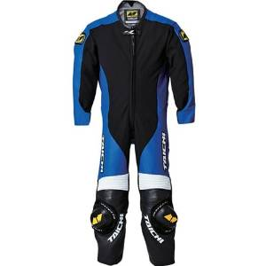 RSタイチ(RSTAICHI) 【必ず購入前に仕様をご確認下さい】NXL022 キッズ レザースーツ BLUE 130cm【smtb-s】