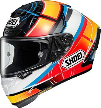 SHOEI 【必ず購入前に仕様をご確認下さい】X-FourteenDE ANGELIS TC-1 RED/WHITE S【smtb-s】
