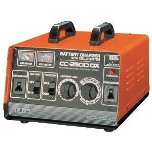 セルスター工業 バッテリー充電器 (タイマー・セルスタート付) 12V/24V専用 15A (CC-2500DX)【smtb-s】