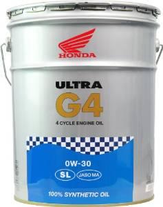Honda(ホンダ) 【必ず購入前に仕様をご確認下さい】ウルトラ G4 SL 0W-30 20L SL【smtb-s】