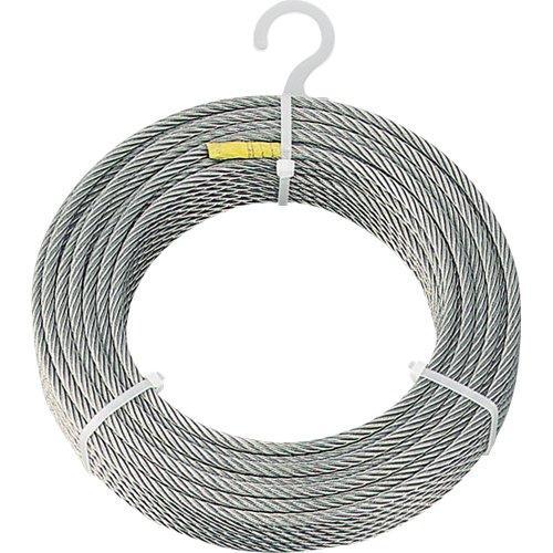 CWS8S100TRUSCO ステンレスワイヤロープ Φ8.0mmX100m8188167【smtb-s】
