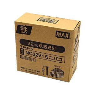 マックス (090320)NC32V1ミニバコ(A1) コイルネイル 400X10X4 NC93132【smtb-s】