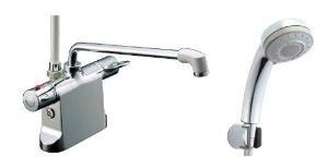 リクシル ビーフィットデッキ型シャワーバス水栓 エコフル多機能シャワ-BF-B646TSB(300)-A85【smtb-s】