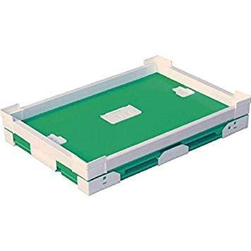 DICプラスチック 79101FNS40LLGKUNIMORI プラダン折畳み FNSコンテナ 40L(SWコーナー)ライトグ7605722【smtb-s】