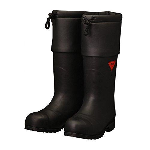 防寒安全長靴 AC11127.0SHIBATA セーフティベアー#1001白熊(ブラック)8357579【smtb-s】