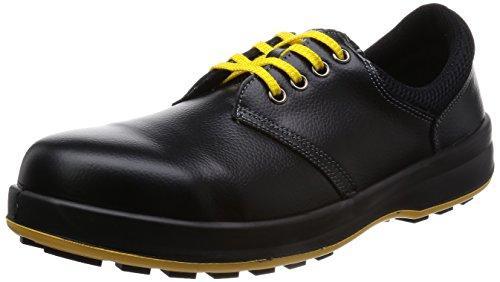 WS11BKS25.0シモン 安全靴 短靴 WS11黒静電靴 25.0cm7570651【smtb-s】